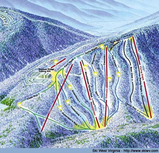 Skiing Virginia Map.Geometry Net Basic W West Virginia Maps